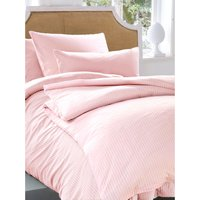Jersey Sheet And Pillowcase Irisette Pale Pink