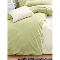 Jersey Sheet And Pillowcase Irisette Green