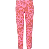 7/8-length Pull-on Trousers Sylvia Fit Mybc Multicoloured