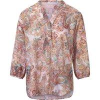 Blouse In Slip-on Tunic Style Eterna Multicoloured