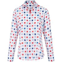 Blouse Dotted Pattern Eterna Multicoloured