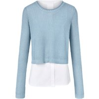 2-in-1 Jumper In Layered Look Day.like Blue