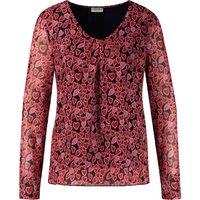GERRY WEBER Shirt Rundhals »Langarmshirt Hearts«