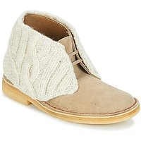 Clarks  DESERT BOOT  womens Mid Boots in Brown