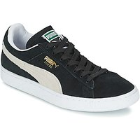 Puma  SUEDE CLASSIC  women s Shoes  Trainers  in Black