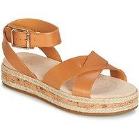 Clarks Botanic Poppy Sandals In Brown