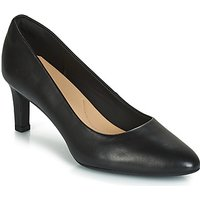 Clarks Calla Rose Court Shoes In Black