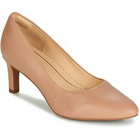 Clarks Calla Rose Court Shoes In Beige