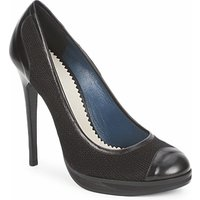Pollini  PA1010  womens Court Shoes in Black