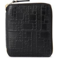 Comme Des Garcons  Comme Des Garçons black printed leather wallet  womens Purse wallet in Black