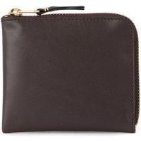 Comme Des Garcons  Comme Des Garçons brown leather coin pocket.  womens Purse wallet in Brown