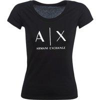 Armani Exchange Helbatante T Shirt In Black