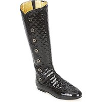 French Sole  PUMPKIN  women s High Boots in Black