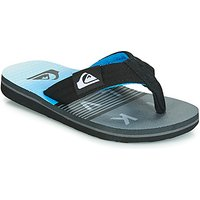 Quiksilver  MOLOKAI LAYBACK YTH B SNDL XKSB  boys's Children's Flip flops / Sandals in Black
