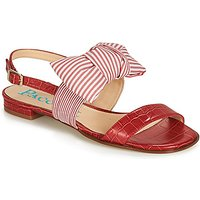 Paco Gil  BOMBAY  women's Sandals in Red. Sizes available:3,4,5,6,7,8