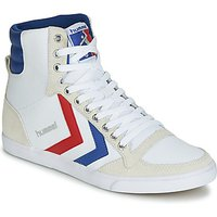 Hummel  SLIMMER STADIL HIGH  women s Shoes  High top Trainers  in White