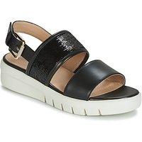 Geox D Wimbley Sandal Sandals In Black