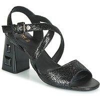 Geox D Seyla S. High Plus Sandals In Black