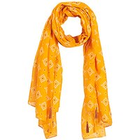 André Tatiana Scarf In Yellow