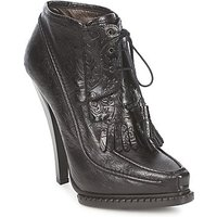Roberto Cavalli  QDS640 PZ030  women s Low Ankle Boots in Black