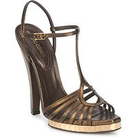 Roberto Cavalli  QDS627 PM027  women s Sandals in Gold