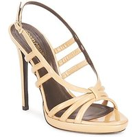 Roberto Cavalli  QDS626 PL028  women s Sandals in Beige