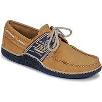 TBS  GLOBEK  men's Boat Shoes in Yellow