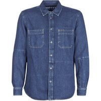 Diesel  D FRED  men's Long sleeved Shirt in Blue