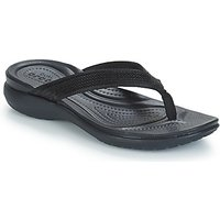 Crocs-CAPRI-V-SEQUIN-W-womens-Flip-flops-Sandals-Shoes-in-Black