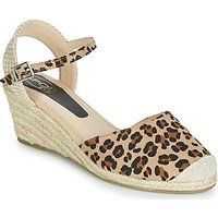 Spot on  F2274  women's Sandals in Beige