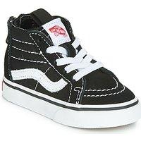Vans  SK8-HI ZIP  boys's Children's Shoes (High-top Trainers) in Black