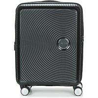 American Tourister  SOUNDBOX 55CM 4R  womens Hard Suitcase in Black