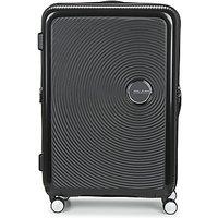 American Tourister  SOUNDBOX 77CM 4R  womens Hard Suitcase in Black