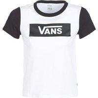 Vans  V TANGLE RANGE RINGER  women's T shirt in White