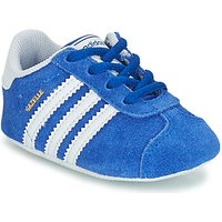 'Adidas  Gazelle Crib  Boys's Children's Shoes (trainers) In Blue. Sizes Available:1 Toddler,2 Toddler,3 Toddler,4 Toddler,5 Toddler,1 Toddler,2 Toddler,3 Toddler