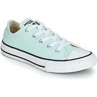 'Converse  Chuck Taylor All Star Seasonal Canvas Ox  Girls's Children's Shoes (trainers) In Blue