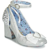 Irregular Choice  DEITY  women's Court Shoes in Silver