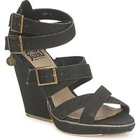Feud  WASP  women's Sandals in Black