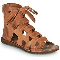 Airstep / A.s.98 Ramos Laces Sandals In Brown