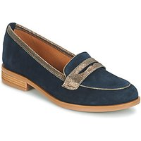 Andre  ROAD  women's Loafers / Casual Shoes in Blue