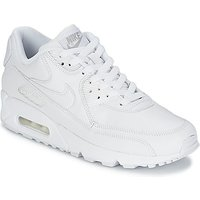 Nike  AIR MAX 90  men's Shoes (Trainers) in White