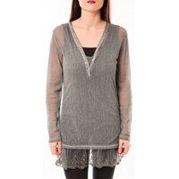 Tcqb  Tunique Nuova Stella Gris  womens Tunic dress in Grey