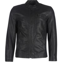 Only   Sons  ONSAL  men's Leather jacket in Black
