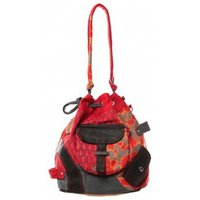 Bamboos Fashion  Sac cabas Barcelone GN-1411 Rouge  womens Messenger bag in Red