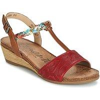 Remonte Dorndorf  MIJUS  women's Sandals in Red