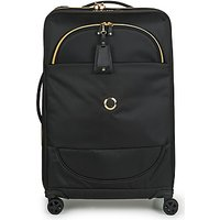 Delsey  MONTROUGE EXTENSIBLE 4R 68CM  mens Soft Suitcase in Black