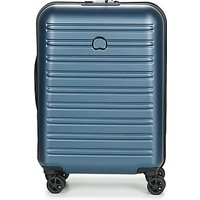 Delsey  SEGUR 2.0 CAB SL 4DR 55CM  womens Hard Suitcase in Blue