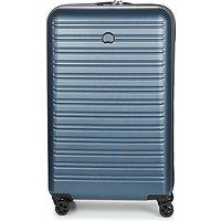 Delsey  SEGUR 4DR 78CM  womens Hard Suitcase in Blue