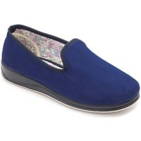 Padders Repose Womens Fully Lined Slippers Slippers In Blue