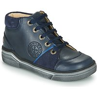 GBB  OULAN  boys's Children's Shoes (High-top Trainers) in Blue